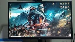 "Monitor Gamer LG 27"" 1ms 240Hz FreeSync/G-Sync, 27GK750F-B"