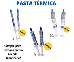 Título do anúncio: Pastas Térmicas Cinzas Halnzyie Para Processador! Loja Física Curitiba!