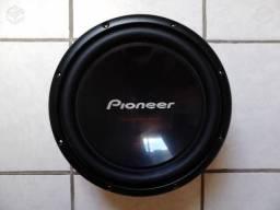 Sub Pioneer Champion TS-W309D4 (Cara Preta) 12 polegadas / Bobina Dupla / 400wRMS