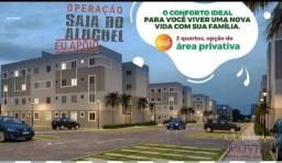 apartamento com sinal de R$ 1.000,00