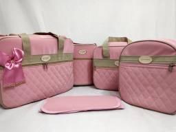 Título do anúncio: Kit Bolsas maternidade luxo!