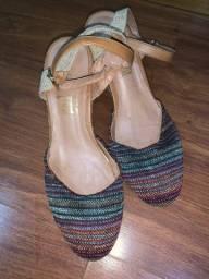 Plataforma sapato
