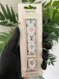 Título do anúncio: Pulseira LV em couro Apple Watch - Promoção para vir buscar