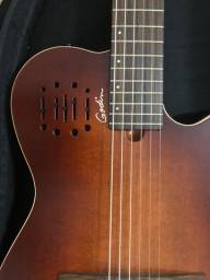 Godin Multiac Nylon Encore Burnt Umb