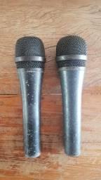 Vendo 2 microfones Sennheiser originais!