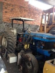 Trator agrícola New Holand 7630, Ford 105 CV