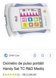 Oxímetro de pulso portátil
