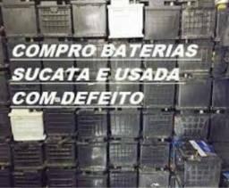 Compro sucata de baterias em geral