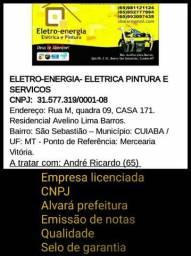Eletro Energia elétrica pintura e serviços
