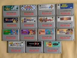 Jogos originais Super Famicom /Super Nintendo *Sou de Camaçari