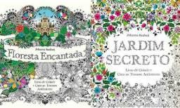 Floresta Encantada e Jardim Secreto (Colorir Anti-Stress) 2 por 30,00