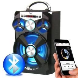 Caixa Som Amplificada Portátil Bluetooth 15w