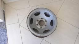 Roda Ferro Aro 15 GM 6 furos C10 C20 D20 Silverado