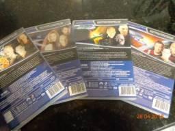 Filmes: Jornada nas Estrlas, 4 DVDs