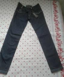Calça Jeans Obsessão e Coesão