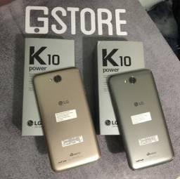 Lg k10 power de 32 gb novo lacrado ( 1 ano de garantia)