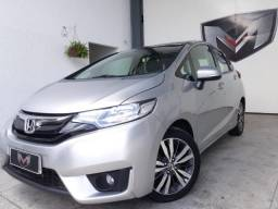 Honda Fit 1.5 EX 16V 2014/2015 Prata - 2015