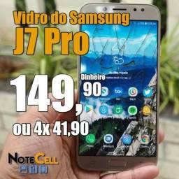 Vidro do Samsung J7 Pro Instalado!