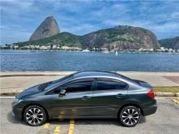 Honda Civic 2.0 lxr 16v gnv 4p automático - 2015