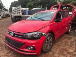 Sucata para retirada de peças VW Polo Tsi turbo 2019