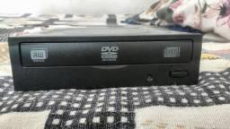 Leitor de CD/DVD RW