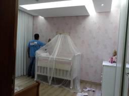 Instalador e vendas de papel de parede adulto e infantil