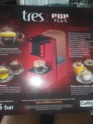 Uma máquina de café