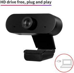Full Hd 1080 Webcam Usb Câmera De Visão 360º Mini Microfone