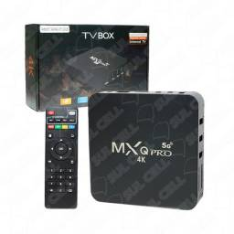 Smart TV Box 4K MXQ Pro Hdmi Wi-Fi 5G Android 10.1 Mem Interna 64GB 4GB Ram<br><br>