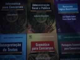 Livros (Português, Exatas, Informática, Contabilidade, Adm) para Concursos a partir de 20