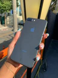 Cinza espacial - iPhone 8 Plus de 128 gb @@@