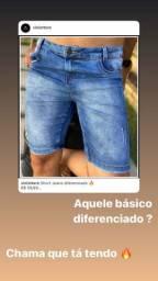 Short jeans diferenciado