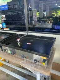 Chapas elétrica / gás - para restaurantes, Hambúrgueria -A gás a partir de r$ 1.630,00