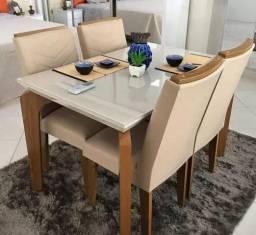 Mesa com 4 cadeiras Londrina K525