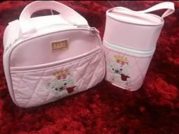 Bolsa e porta mamadeita