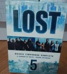 Dvd Box Lost - Quinta Temporada Completa, original, novo/lacrado