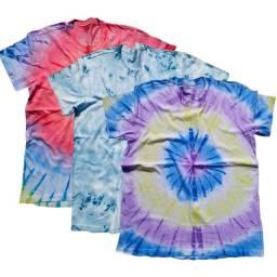 3 Camisas Tide Dye Verão