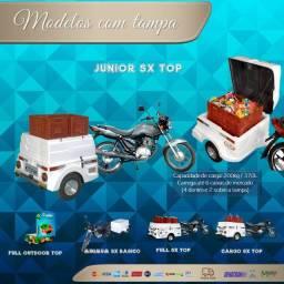 Carretinha para moto modelo Junior SX Top