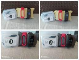 Smartband M4 duas pulseiras, whats, face