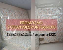 Promoção/ dois colchões D20 por R$660