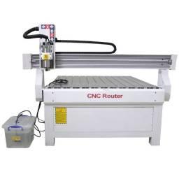Router fresadora CNC 1210 120x100 cm Visutec Nova