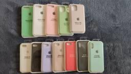 Capa de silicone original iPhone e demais