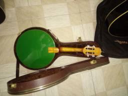 Banjo Rozini tampo verde com case termico.