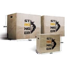 Caixa Crossfit Box Jump caixa de salto caixote crossFfit 75x60x50 oficial