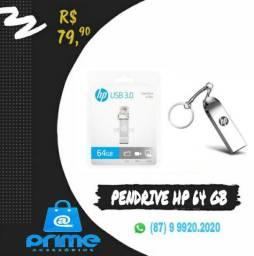 Pendrive HP 64 ou 128GB