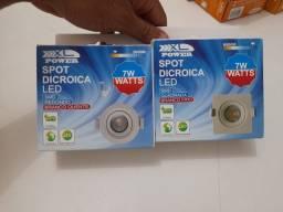 Luminária Spot Dicroica de Led 3w, 5w e 7w- Variadas R$ 25- Promoção