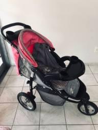 Vendo carrinha bebê e bebê conforto. Por R$ 500,00