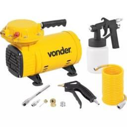 Compressor Ar Direto 1/2 HP com Kit de Acessórios Bivolt Vonder