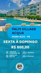 Flat 02 Quatos no Palm Village Aqua