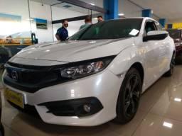 Honda civic g10 sport 2.0 aut completo 2017 total flex top km baixo 66.000